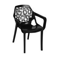 صندلی هوم کت مدل آتیلا نقش اسپیرال کد 2143